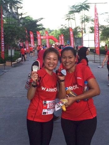 Siew Kiem..her 1st 10KM run