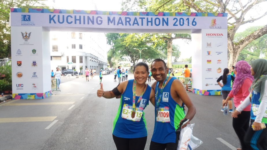 Kuching Marathon 2016- Race Review