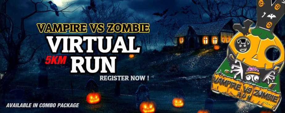 Vampire VS Zombie Virtual Race